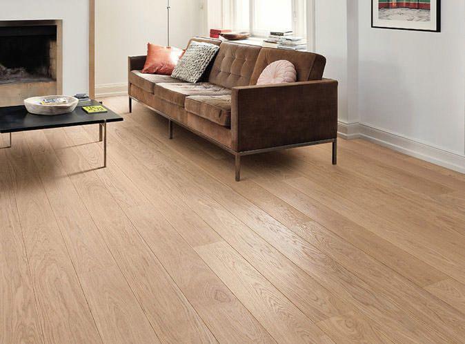 HARO PARQUET 4000 Plank 1-Strip Scala 2V Oak Puro White