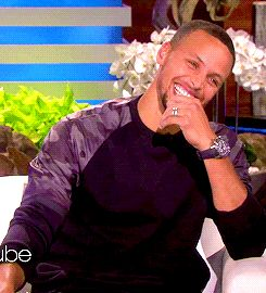 kyrieirvingg:Stephen Curry on Ellen requested by anonymous xx