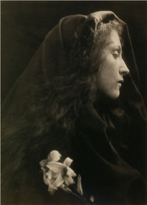 """The Angel at the Sepulchre""  1869 Julia Margaret Cameron"
