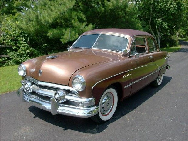 Old Mercury Cars Pictures