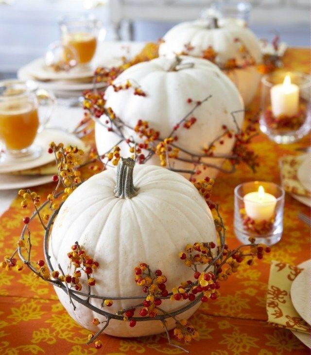 Déco d'automne : citrouilles de lait !