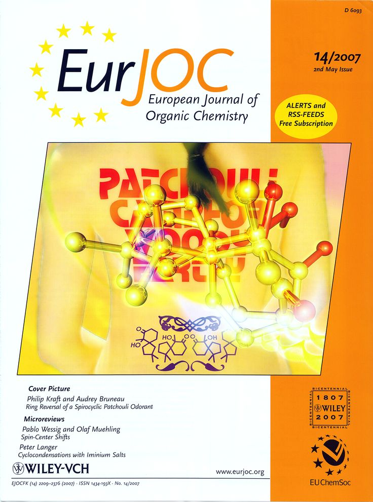 Philip Kraft, Audrey Bruneau, Ring-Reversal of a Spirocyclic Patchouli Odorant: Molecular-Modeling, Synthesis and Odor of 6-Hydroxy-1,1,6-trimethylspiro[4.5]decan-7-one, Eur. J. Org. Chem. 2007, 2257–2267. DOI: 10.1002/ejoc.200600815