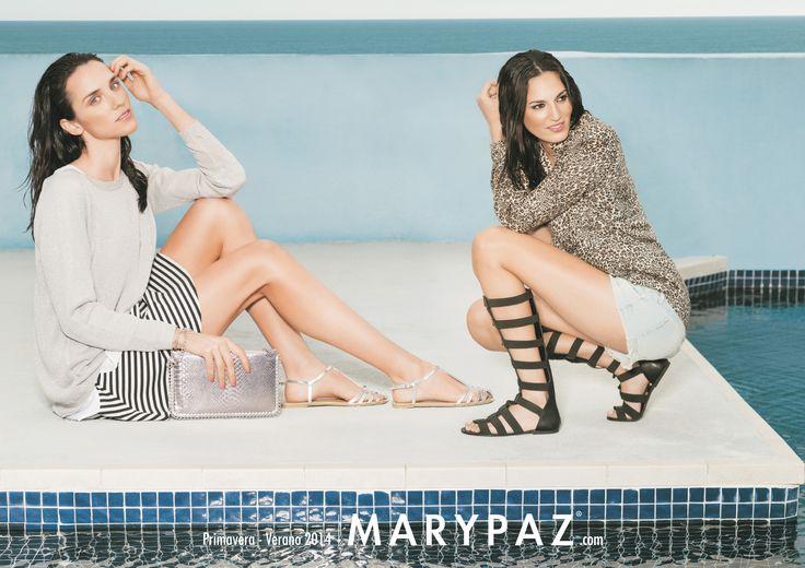 ¿Empezando tus vacaciones? No te olvides de tu selección de sandalias planas ahora a precios increíbles!!! http://www.marypaz.com/tienda-online/