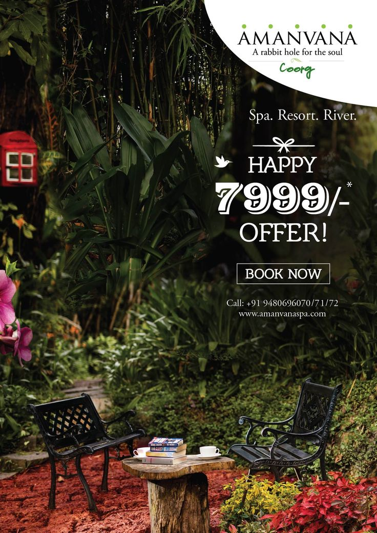 A fabulous offer at Amanvana. Begin 2016 with 7999/-