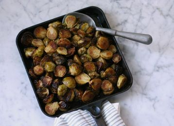 top Spicy purses handle Brussels Roasted Sprouts