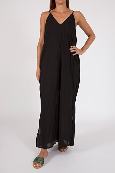 woven cotton maxi dress, (available in three shades) $129 www.sassind.com
