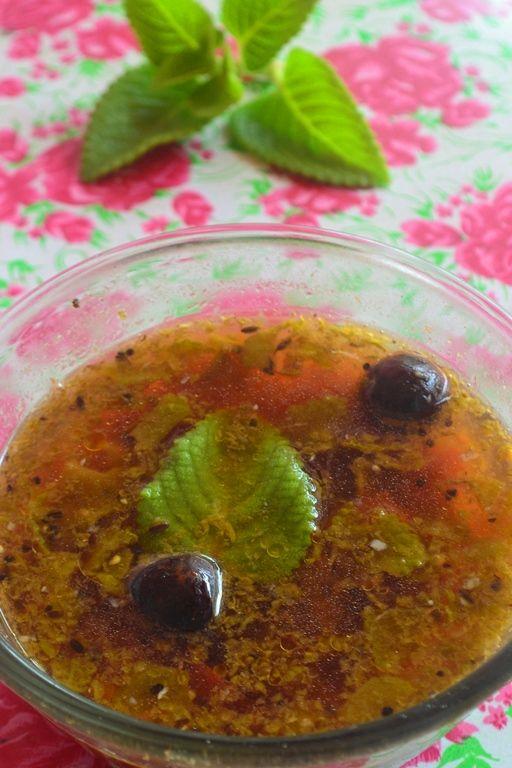 YUMMY TUMMY: Karpooravalli Leaves Rasam Recipe / Omavalli Rasam Recipe…