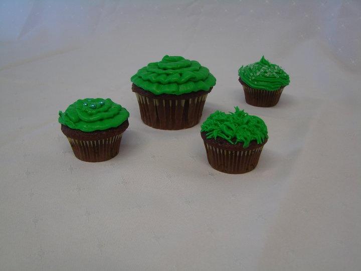 Cupcakes Green