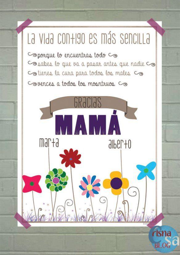 Regalos para el Día de la Madre: Láminas