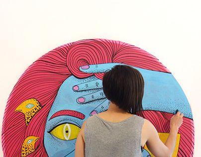 "Check out new work on my @Behance portfolio: ""Volum 4 mural, Bucharest"" http://be.net/gallery/63444777/Volum-4-mural-Bucharest"