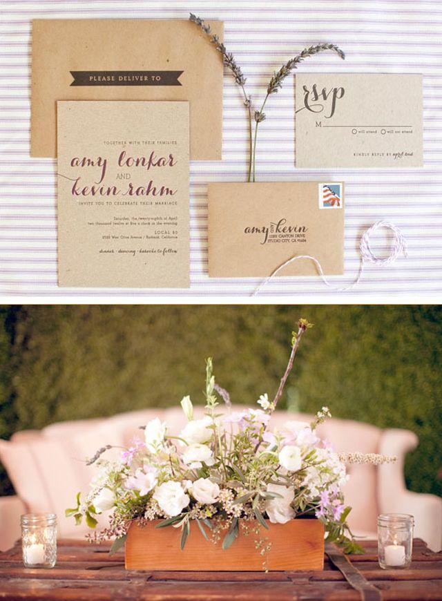 Amy Lonkar and Kevin Rahm wedding invitations