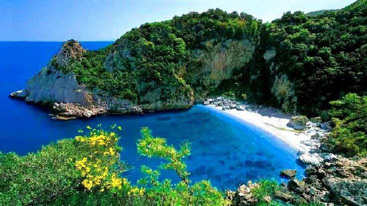 GREECE CHANNEL | Beautiful beach in Magnesia pref. (Mount Pelion) - Thessaly, Greece