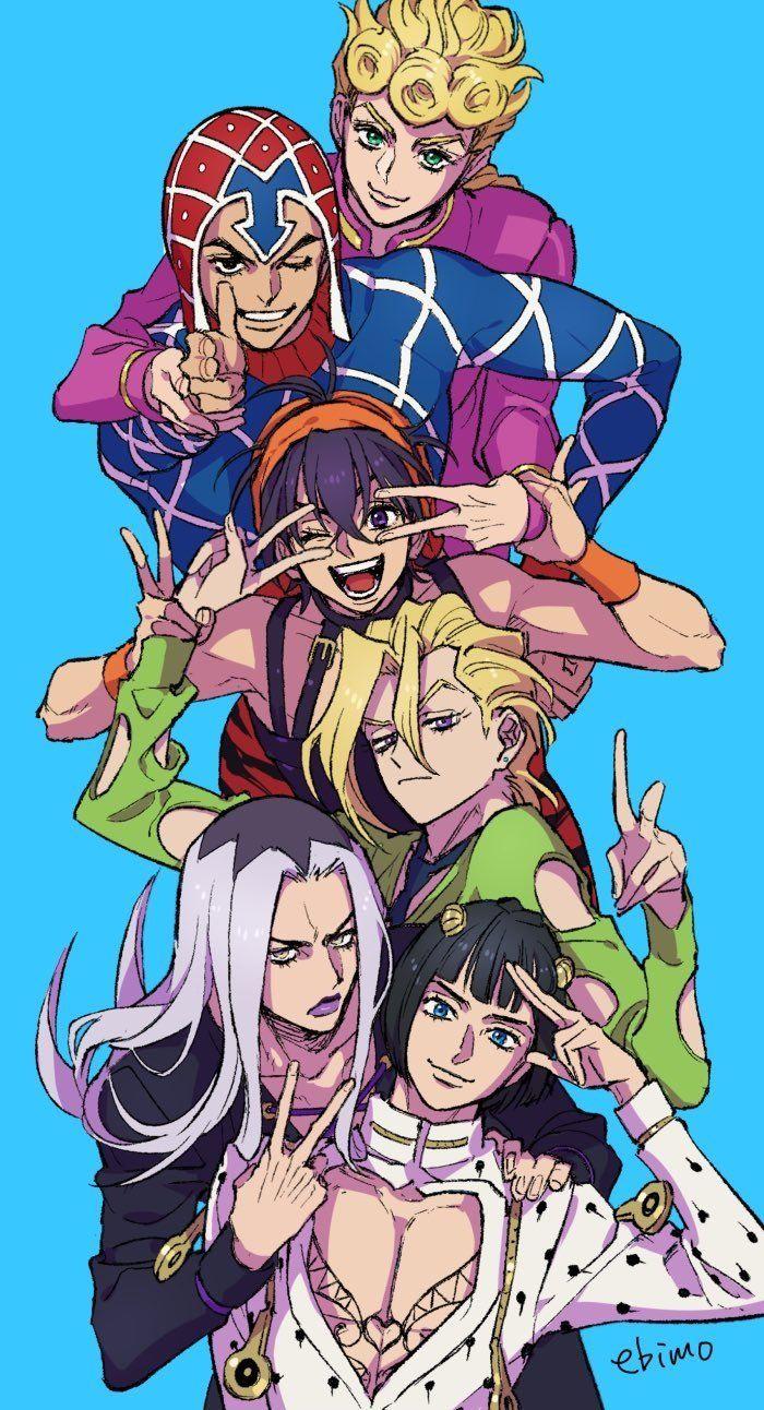 Pin By Violet Evergarden On Jojo Jojo Anime Jojo Bizzare Adventure Jojo Bizarre