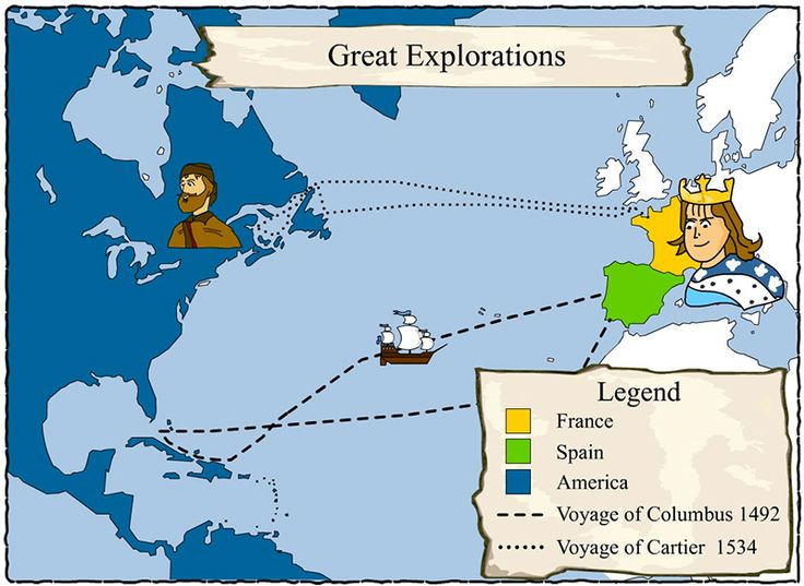 Why did Jacques Cartier sail west for France?  Why did he return three times!