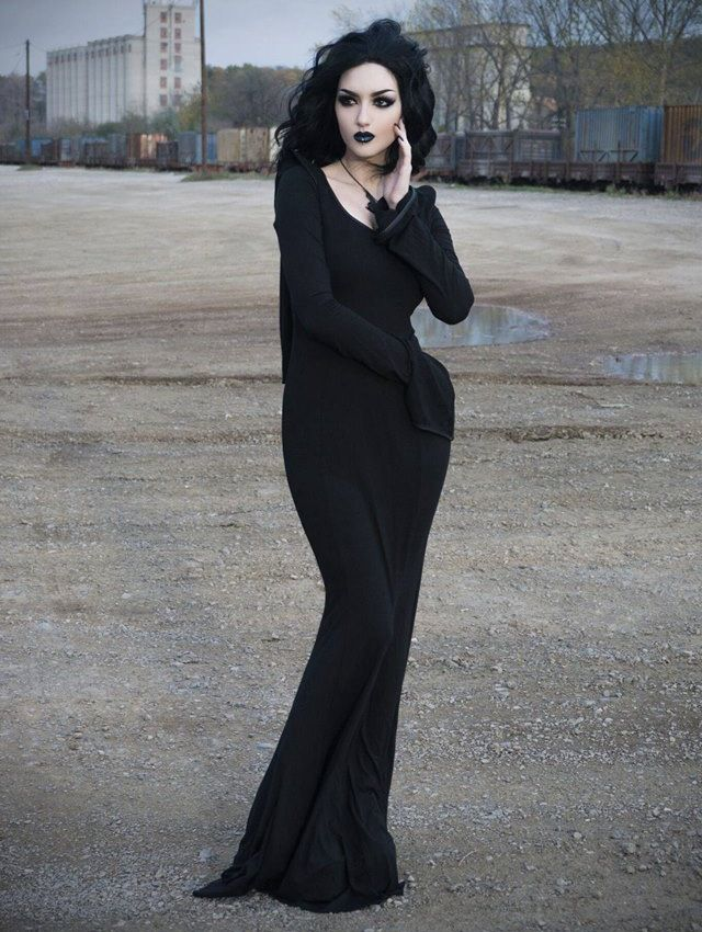 25  best Black gothic dress ideas on Pinterest | Gothic dress ...