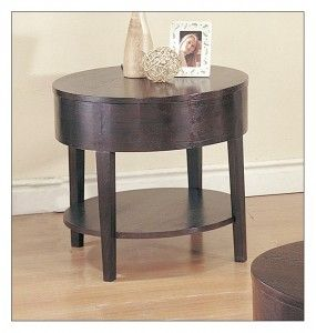 Chic Black Sleek End Table Designs
