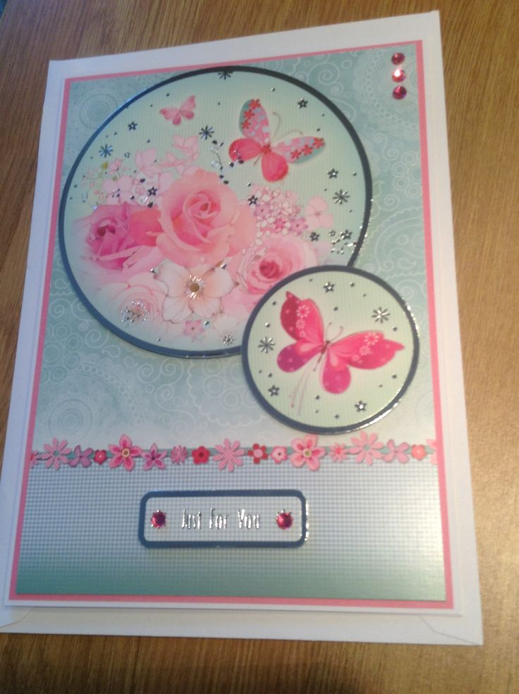 Pretty Hunkydory birthday card
