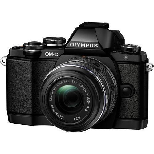 E-M10 OM-D System Camera with M.Zuiko 14-42mm Lens
