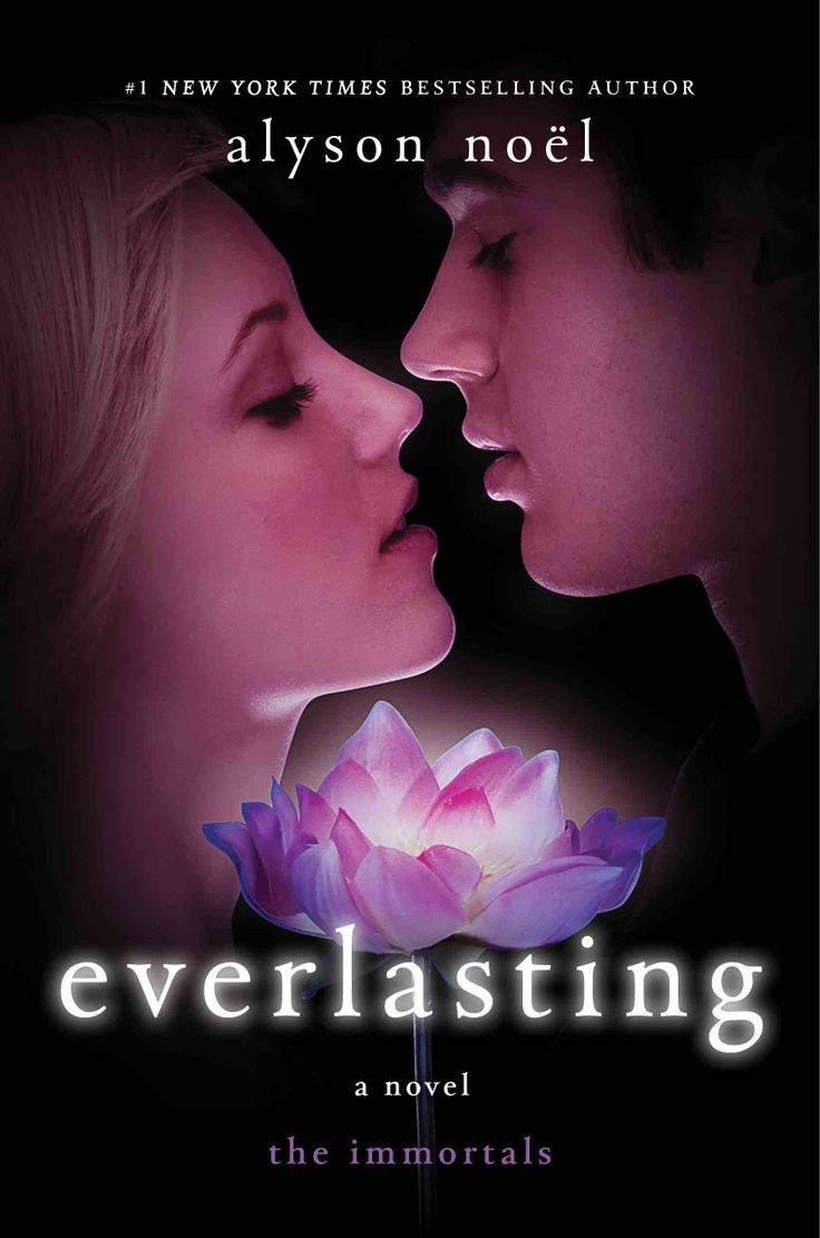 Evermore Series (Book 6) - Everlasting by Alyson Noel. The cover is adorable o: <3