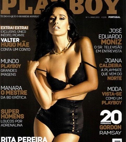 Rita Pereira chega hoje às bancas na Playboy