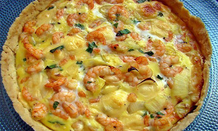 Esta receita de quiche de camarão é deliciosa, e é bem simples de fazer! Experimenta já e vais ver como não te vais arrepender!