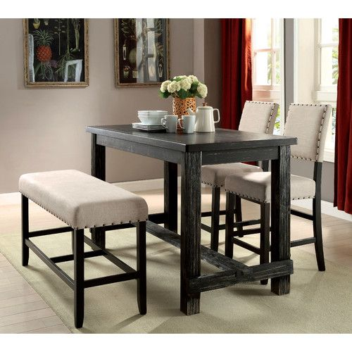 Mystic Cay Counter Height Pub Table #birchlane