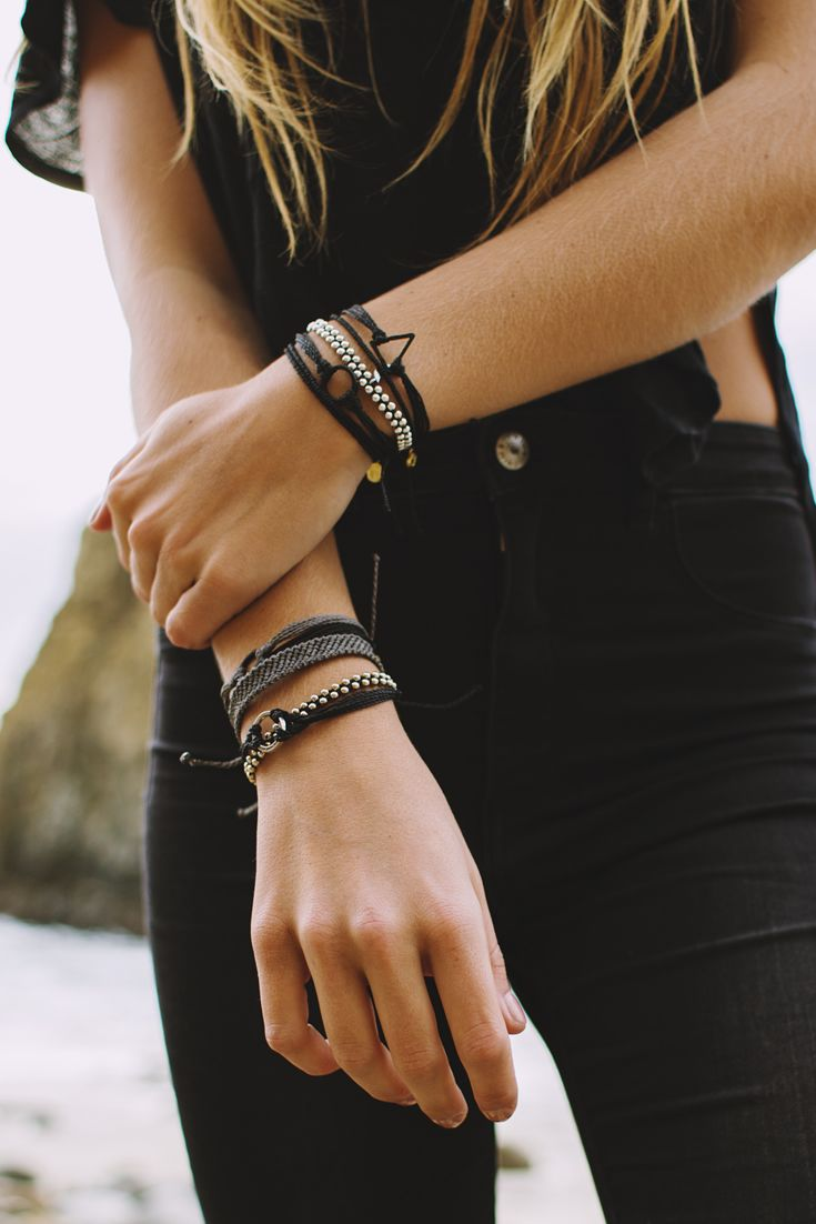 Black to Basics | Pura Vida Bracelets