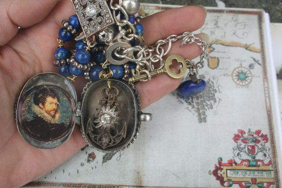 Vintage Assemblage Assemblage jewelry Vintage by IRISHTREASURE