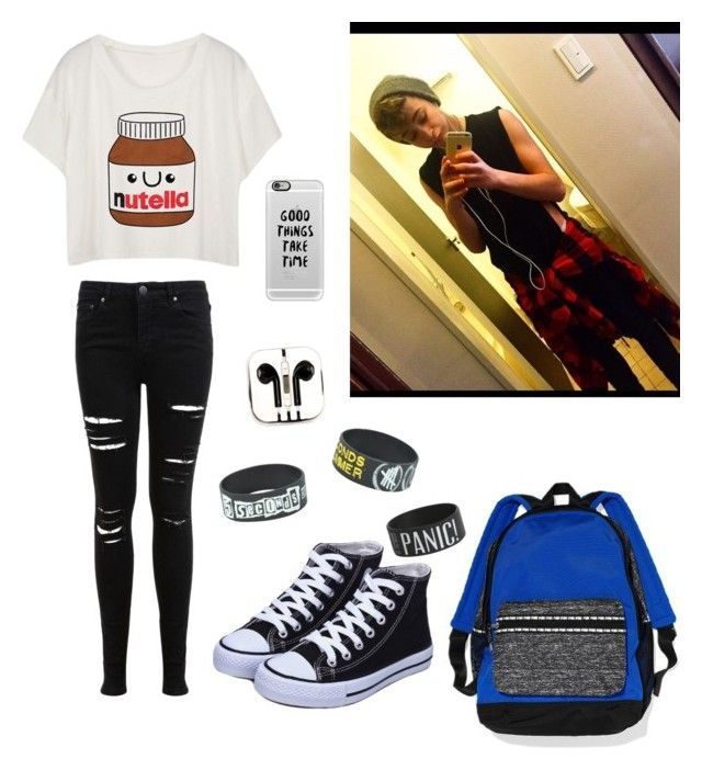 """""""date with Leondre Devries"""" by amyclaire03 on Polyvore featuring Miss Selfridge, PhunkeeTree and Casetify"""