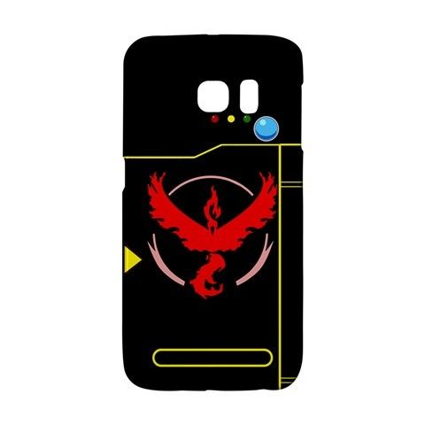 Pokedex Team Valor Pokemon Go Black Samsung Galaxy S6 EDGE or S3/S4/S5/S6/S7/S7 EDGE/NOTE 2/NOTE 3/NOTE 4/NOTE 5 Case Wrap Around