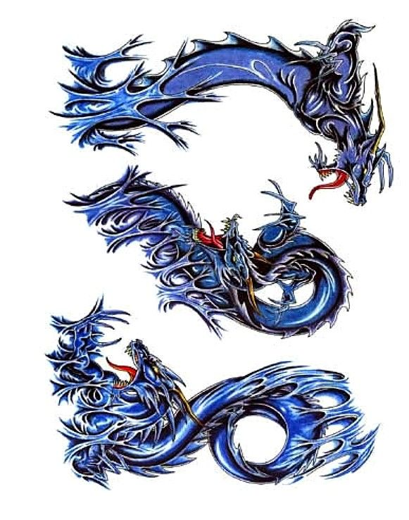 17 best ideas about dragon tattoo back on pinterest