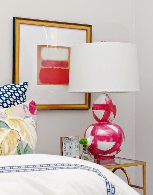 Brushstrokes Lamp