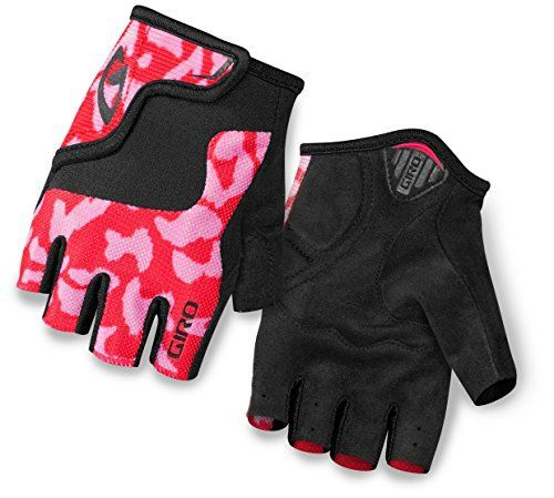 Giro Bravo Jr Glove - Kid's Pink/Black Medium - http://ridingjerseys.com/giro-bravo-jr-glove-kids-pinkblack-medium/