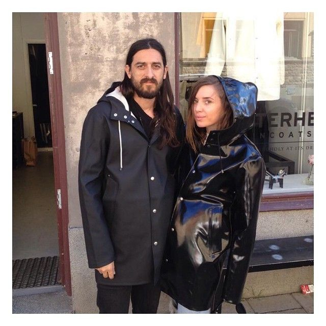 Lykke Li wearing Opal Black and Jeff Bahsker with his Stockholm Black.