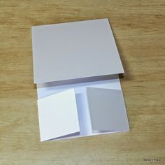 By Beccy Muir. Tutorial: Dutch Fold Card.