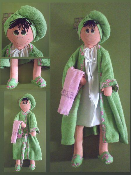 17 mejores ideas sobre adornos para el ba o en pinterest - Porta toallas para bano ...
