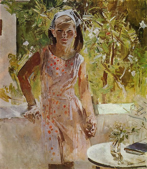 Евсей Моисеенко - Наташа. 1967