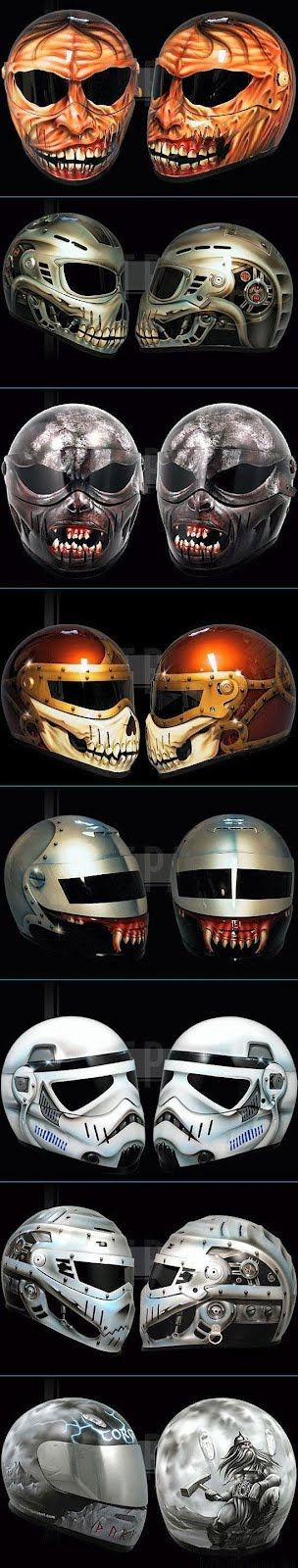 Have to get one of these helmets when I get another ATV. These are freaking awesome!