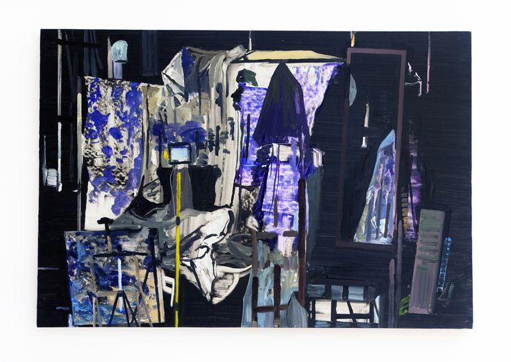 'Studio Paintings' (2014), Richard Walker, Reid Gallery, The Glasgow School of Art. Photo: Alan Dimmick. Courtesy the artist.