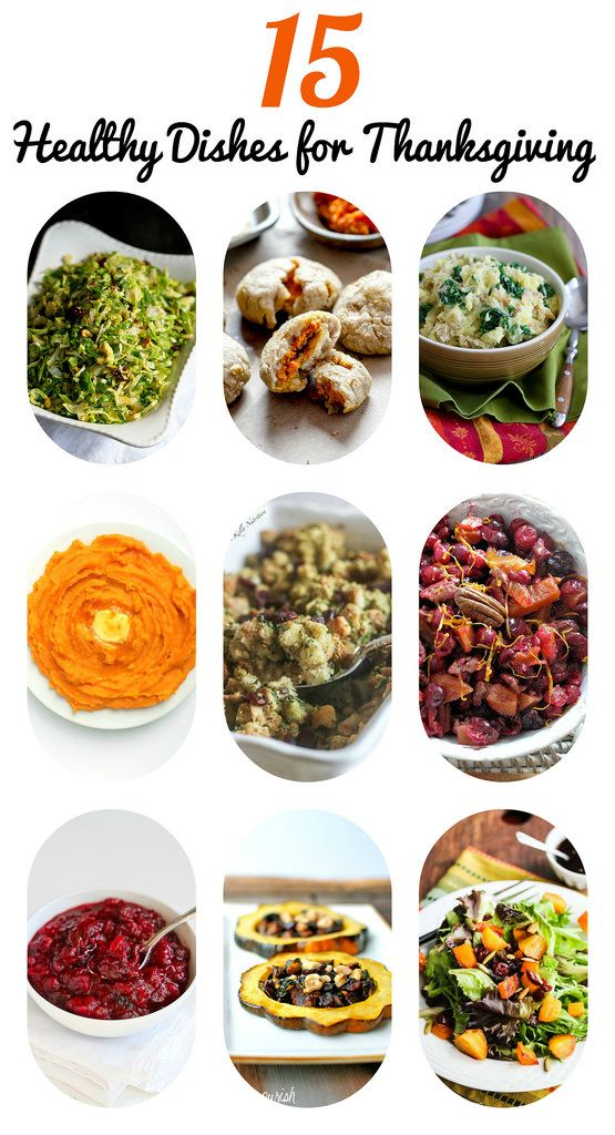 Healthy Side Dish Recipes for Thanksgiving...Lighten up your feast with these flavorful dishes! | cookincanuck.com