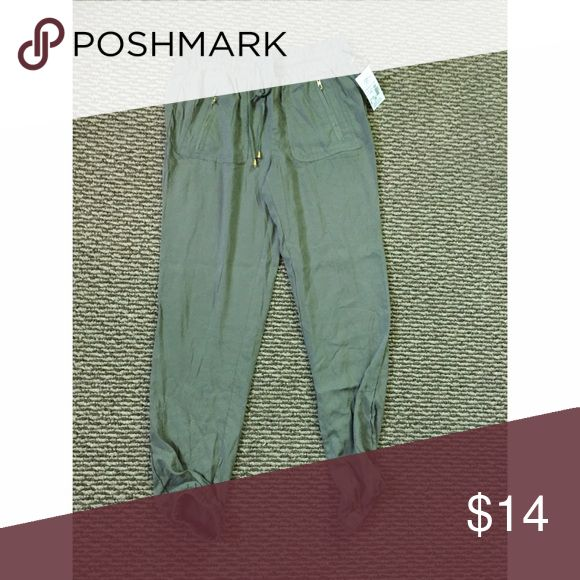 olive pants olive pants, TAG STILL ATTACHED. Pants