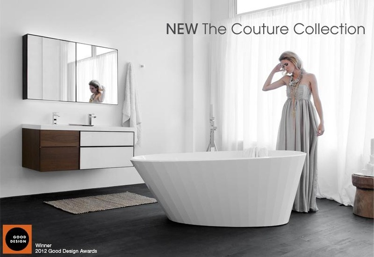 WETSTYLE's Couture bathtub and Frame collection vanity