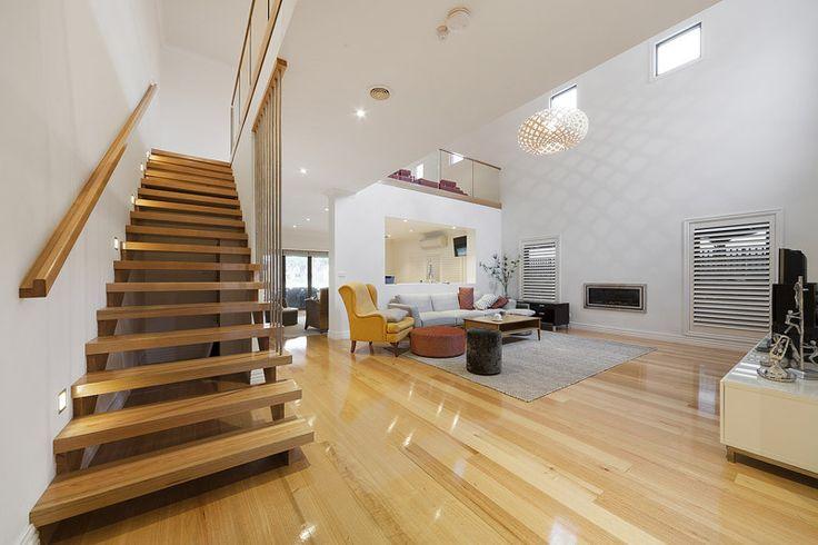 Open Split String Staircase