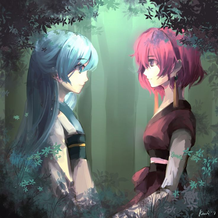 Akatsuki No Yona Yona Of The Dawn Princess Yona And Lady Lili