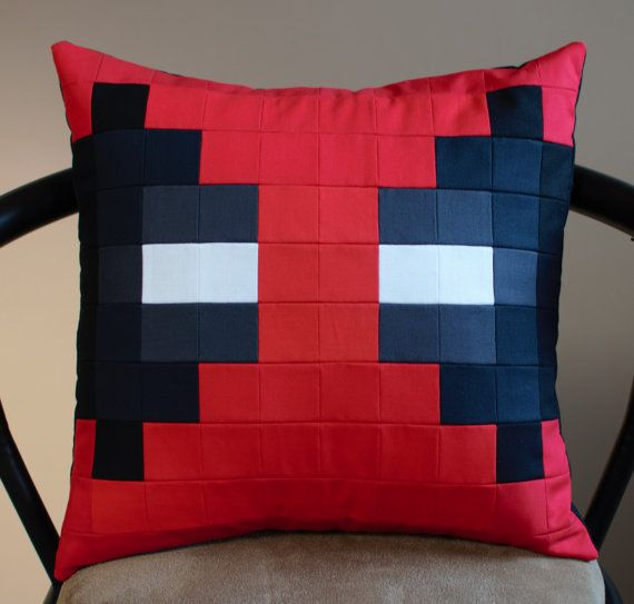 Hey, I found this really awesome Etsy listing at https://www.etsy.com/ca/listing/477285811/deadpool-pixel-style-removable-pillow