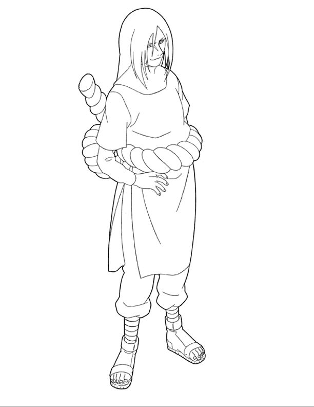 Les 49 meilleures images du tableau naruto coloring pages - Coloriage naruto gaara ...
