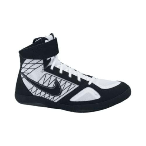 Nike Takedown Mens Wrestling Shoes Black/white Size 8 Synthetic upper with  breathable mesh.