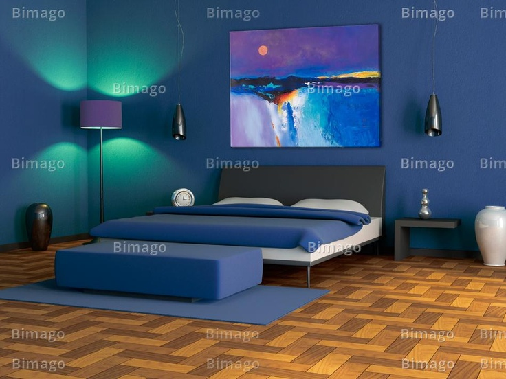 Inspirational blue: Wall Paintings Colors, Bedrooms Colors, Bedrooms Wall Paintings, Bedrooms Design, Blue Wall, Blue Bedrooms, Bedrooms Wall Design, Bedrooms Decor, Bedrooms Ideas
