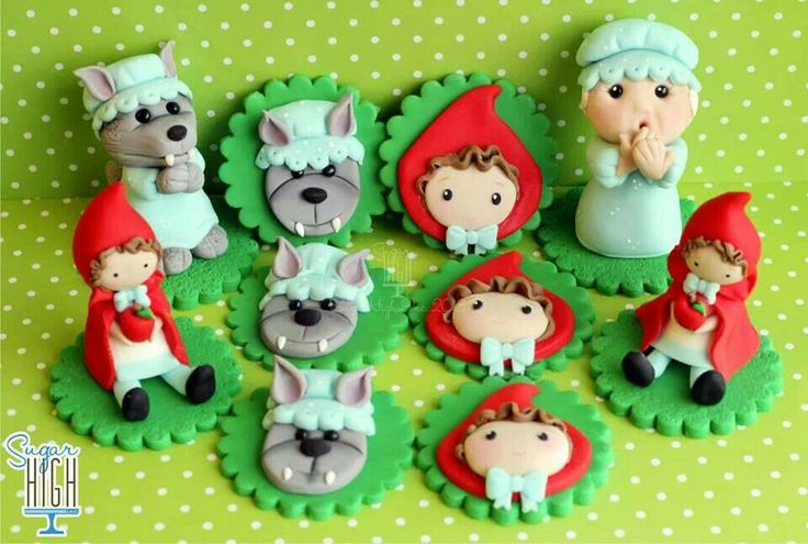 Red riding hood toppers