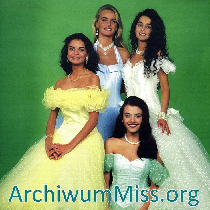 https://flic.kr/p/KGRJUA | Miss Polska 1994 | Joanna Jaśkowiak II Wicemiss…